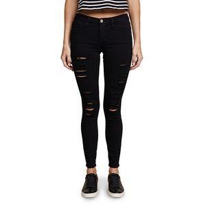 FRAME Le Color Rip Skinny Jeans Sz30
